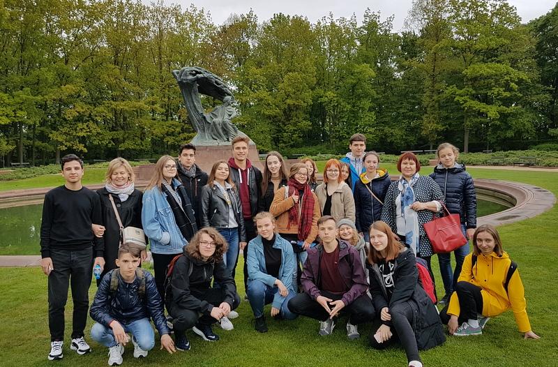 2 - zwiedzanie Łazienek
