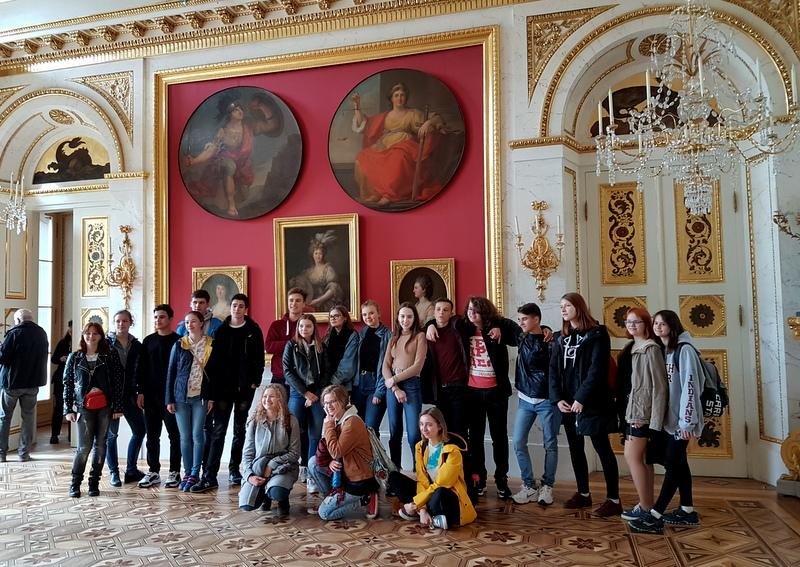 4 - zwiedzanie Pałacu na Wodzie